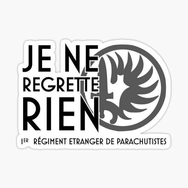 1 REP Légion Étrangère Sticker
