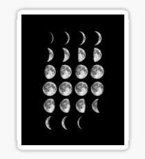 Full Moon Phases Sticker