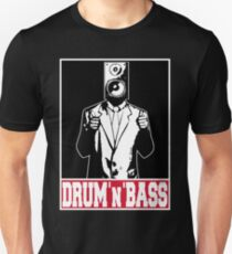 Thumbs up for drum and bass Unisex T-Shirt