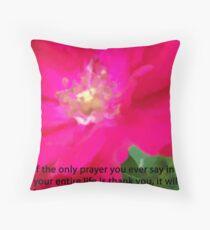 SAY A PRAYER  Throw Pillow