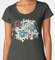 Sweet Blue Camo Women's Premium T-Shirt