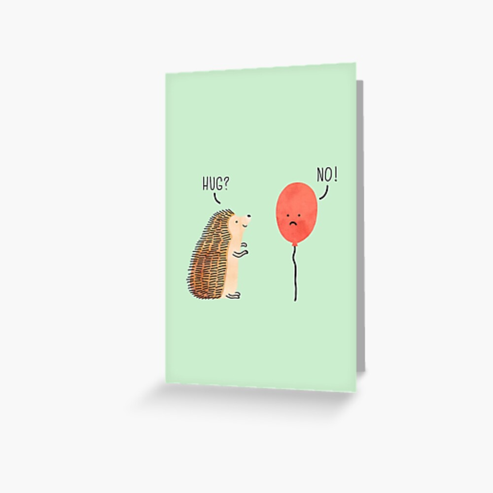 impossible love Greeting Card