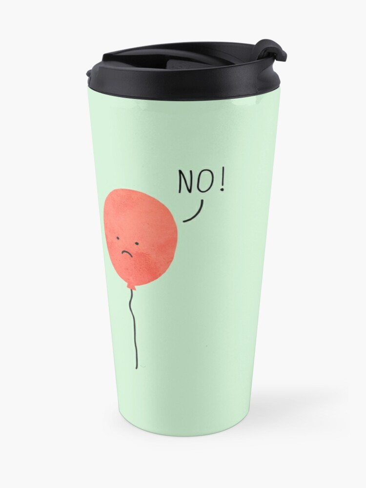 Alternate view of impossible love Travel Mug