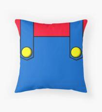 Italian Plumber Throw Pillow