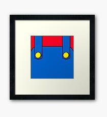 Italian Plumber Framed Print
