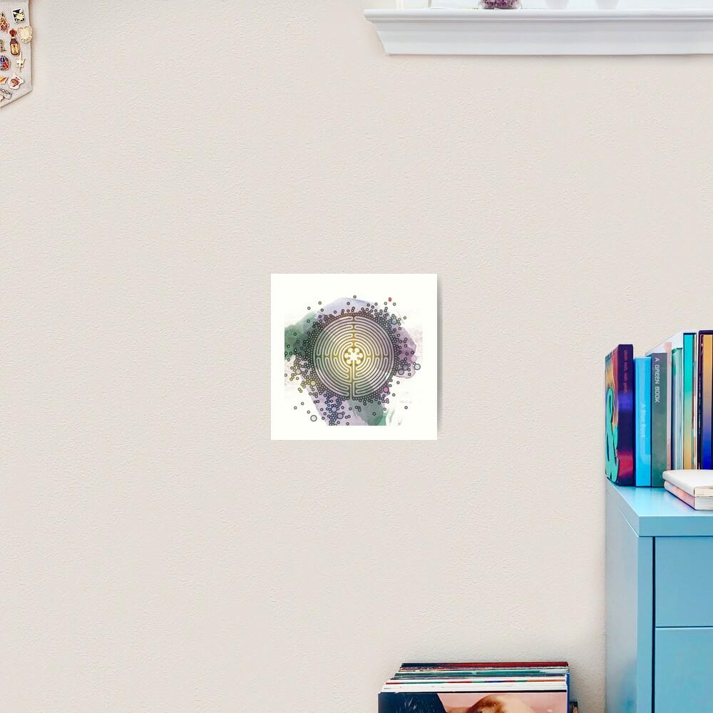 Meditative Labyrinth Art Print