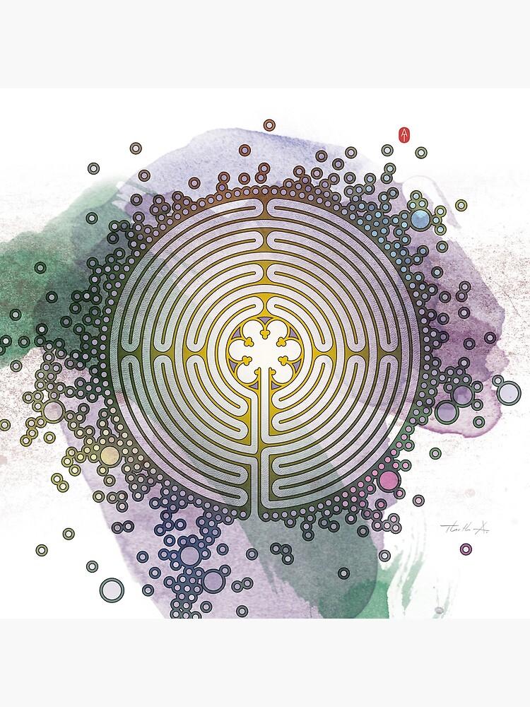 Meditative Labyrinth by Thoth-Adan