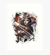 League of Legends LeBLANC Art Print