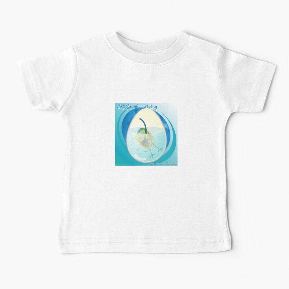 Two Scrambled Eggs - EGGscuba diving Baby T-Shirt