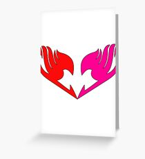 Fairy tail guild logo Greeting Card