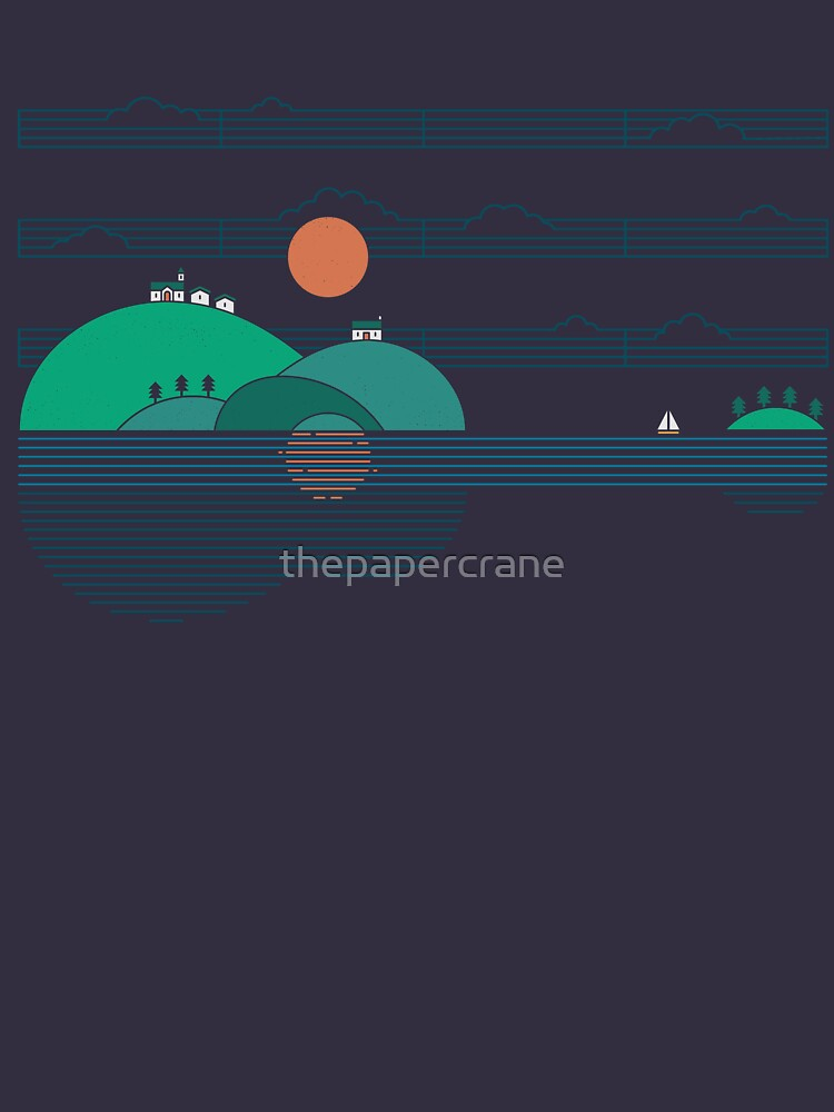 Island Folk by thepapercrane