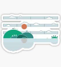 Island Folk Sticker
