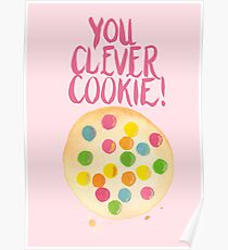 You Clever Cookie Poster
