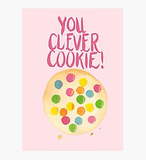 You Clever Cookie Photographic Print