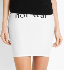 Make Sense, Not War Mini Skirt