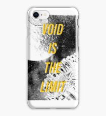 Void Is The Limit iPhone Case/Skin