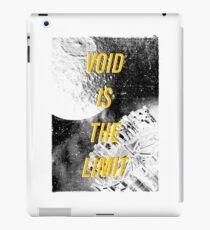 Void Is The Limit iPad Case/Skin