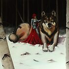 Red and Wolf by Allen Donnelly