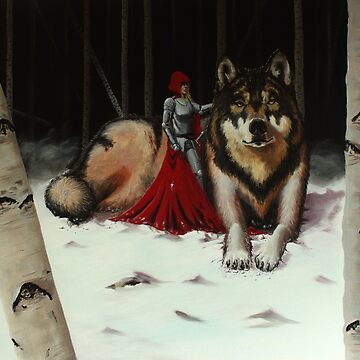 Red and Wolf by BigAlien