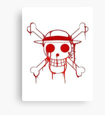 Jolly Roger(Luffy) Canvas Print