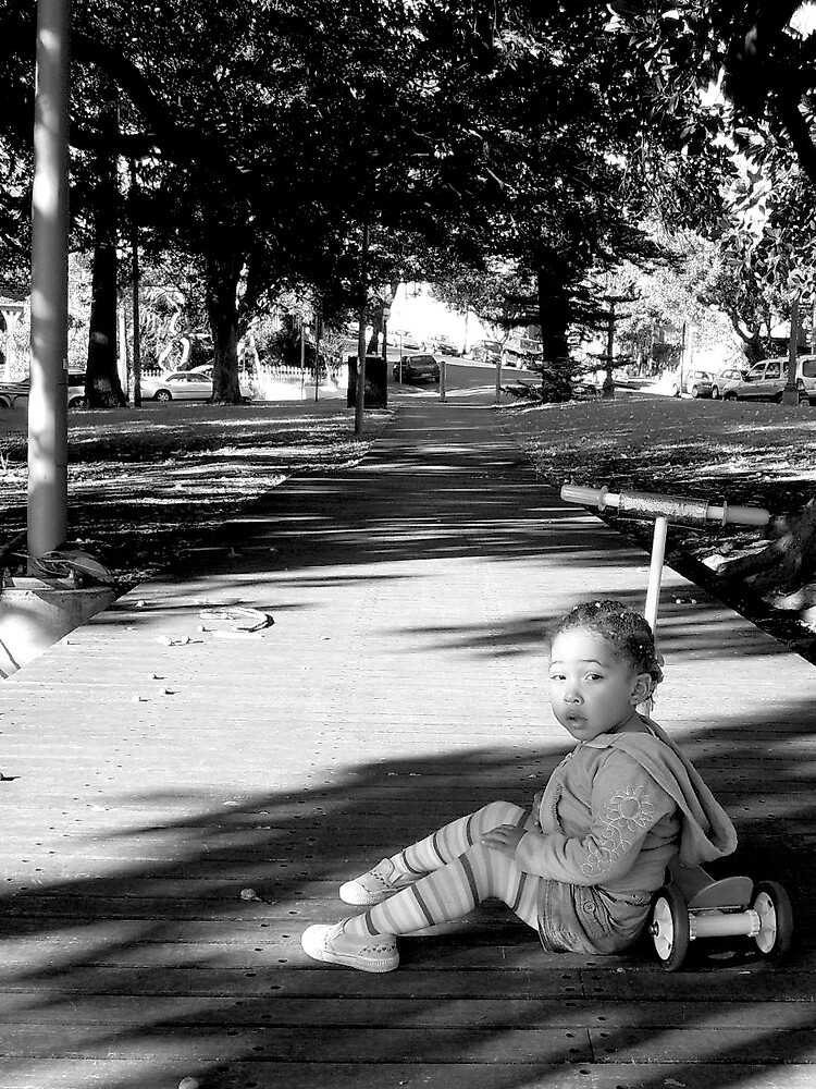 Contemplative Child by MiniMumma