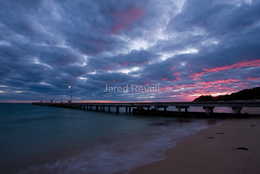 Watching The Clouds Catch Fire by Jared Revell
