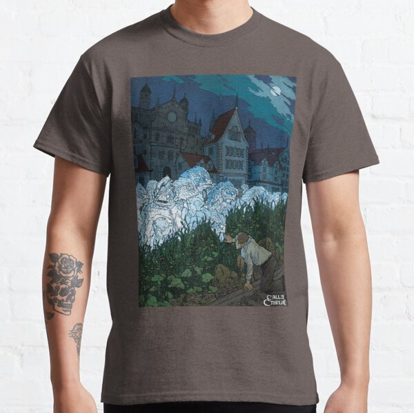 The Shadow over Innsmouth - Art by Andrey Fetisov Classic T-Shirt