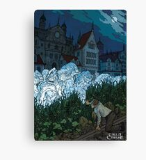 The Shadow over Innsmouth - Art by Andrey Fetisov Canvas Print