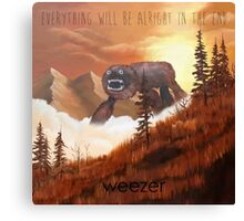 Everything Will Be Allright Canvas Print