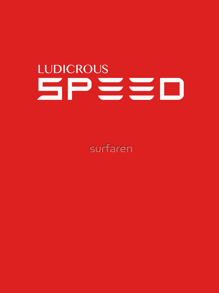 Ludicrous Speed by surfaren