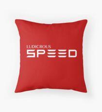 Ludicrous Speed Throw Pillow