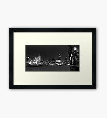 S Pauls from the Southbank Framed Print