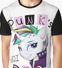 Punk's not Dead - Rarity Graphic T-Shirt