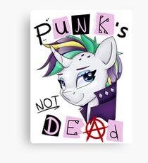 Punk's not Dead - Rarity Canvas Print