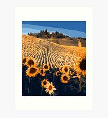 Sunflower Paradise Art Print