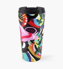 Psychedelic Abstract #2 Art Print Travel Mug