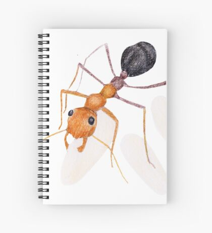 Ant Daycare Spiral Notebook