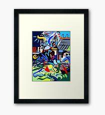 Abstract Landscape #2 Framed Print