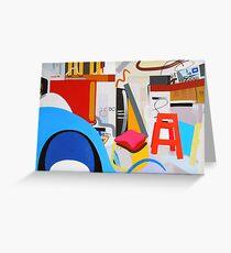 Abstract Interior #13 Greeting Card