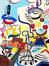 Abstract Interior #15 by Lisa V Robinson