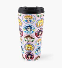 Sailors Scouts Fight like a Girl Travel Mug