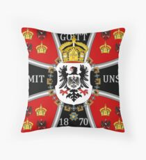 German Imperial Standard Throw Pillow