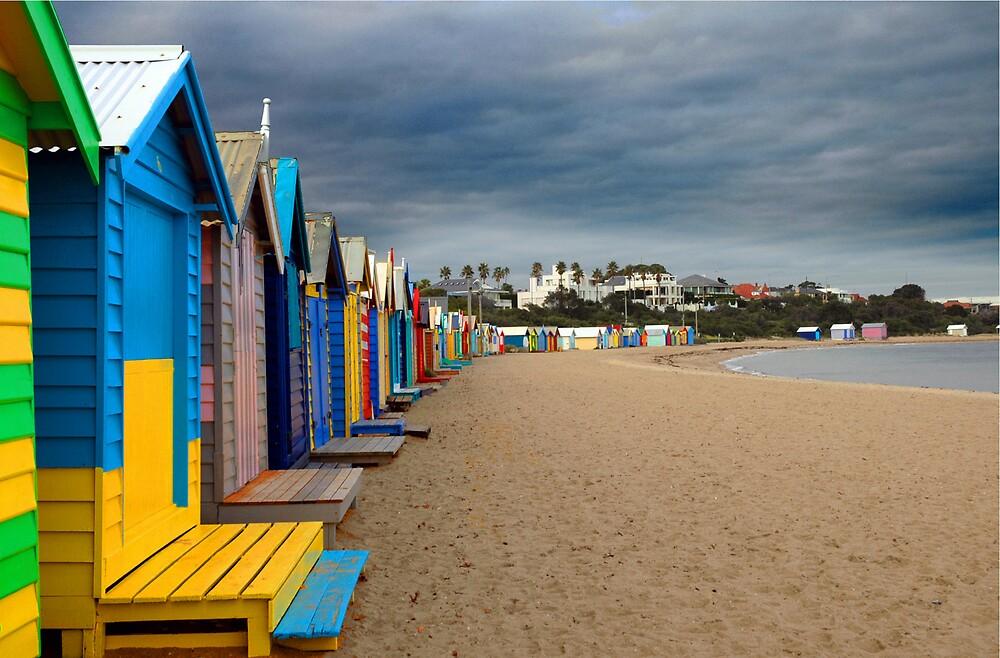 Brighton Beach by Claye Herdman