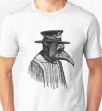 Plague Doctor Death- Black Death Evil Surgeon T-Shirt