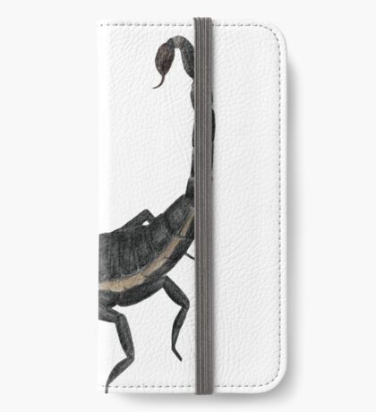 Black Scorpion iPhone Wallet