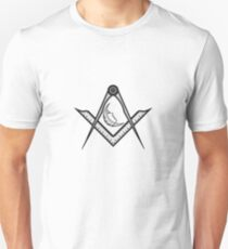 Compass, moon and protractor T-Shirt
