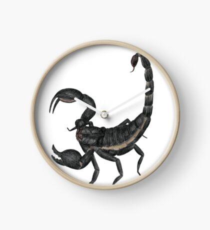 Black Scorpion Clock
