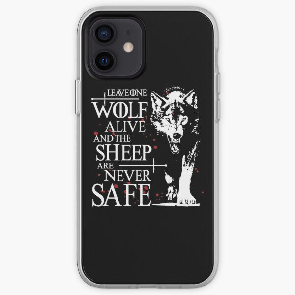 Leave one wolf alive and the sheep are never safe iPhone Soft Case