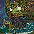 Dagon - Art by Andrey Fetisov by Chaosium
