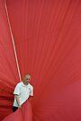 Hot air: Man in red by Lenka